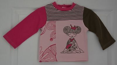pull rose fille 24 mois sans marque