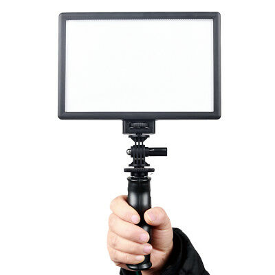 Portable LED Soft Video Light Panel DSLR DV Camera Camcorder Film Lamp Dimmable