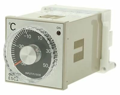 Omron E5C2 On/Off Temperature Controller, 48 x 48mm, RTD Input, 100 â?? 240 V ac