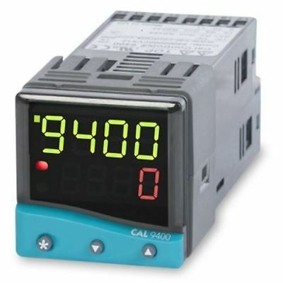CAL 9400 PID Temperature Controller, 48 x 48 (1/16 DIN)mm, 2 Output Relay, SSD,