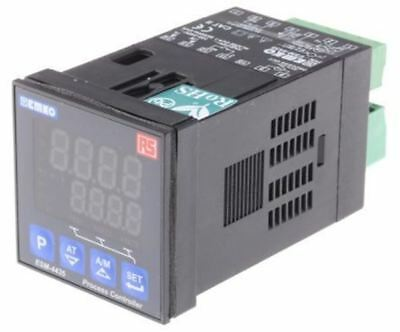 RS Pro 1/16 DIN PID Temperature Controller, 48 x 48mm, 3 Output Current, Relay,