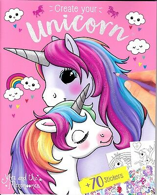 Ylvy and the Minimoomis Create Your Unicorn Depesche Mal- und Kreativbuch