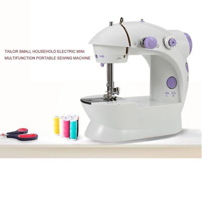 Multifunction Electric Mini Sewing Machine Household Desktop With LED New JL