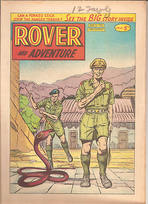 ROVER AND ADVENTURE,JUNE 15th,1963:CAR CLUB BADGES BACK PAGE,32 PAGES