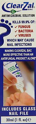ClearZal BAC Antimicrobial Solution 30ml