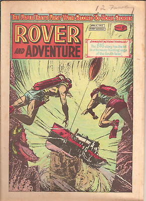 ROVER AND ADVENTURE,APRIL 6th,1963:CAR CLUB BADGES BACK PAGE,32 PAGES