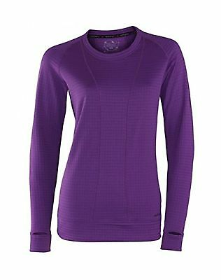 Terramar Women's Plus Size Ecolator Performance Long Sleeve Scoop W8536w Small