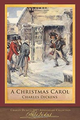 A Christmas Carol: Illustrated Classic by Charles Dickens New Paperback Book