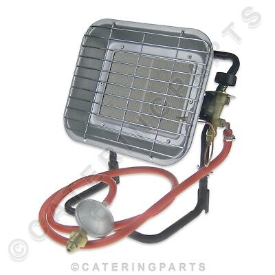 NEW 4.5kW PROPANE GAS OUTDOOR SITE HEATER SUITABLE FOR LPG INCLUDES STAND SH009C