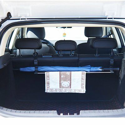 Multi-function car seat back storage rack umbrella holder towel hook EC