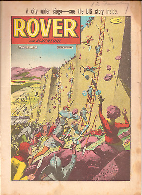 ROVER AND ADVENTURE,OCT. 12th,1963:PUBLISHER D.C.THOMSON,32 PAGES