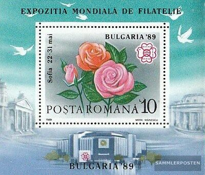 Romania block253 (complete.issue.) unmounted mint / never hinged 1989 Briefmarke