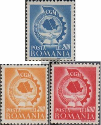 Romania 1037-1039 (complete.issue.) unmounted mint / never hinged 1947 Trade Uni