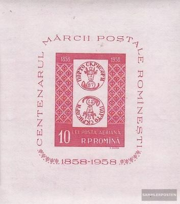 Romania block41 (complete.issue.) unmounted mint / never hinged 1958 100 years R