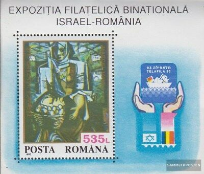 Romania block283 (complete.issue.) unmounted mint / never hinged 1993 Briefmarke