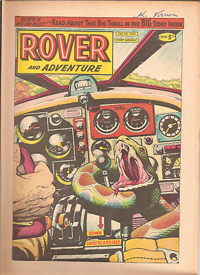 ROVER AND ADVENTURE,JULY 20th,1963:PUBLISHERD.C.THOMSON,32 PAGES: