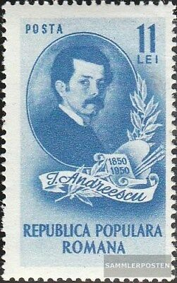 Romania 1203 unmounted mint / never hinged 1950 Ion Andreescu