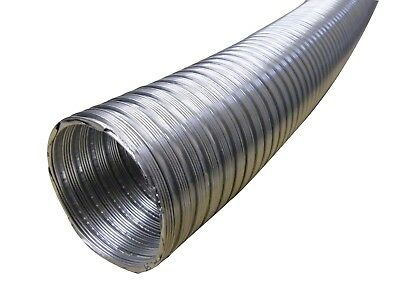 K & S Tube 200 mm/ 3 M Alufelxschlauch, Aluminum Flexible Pipe