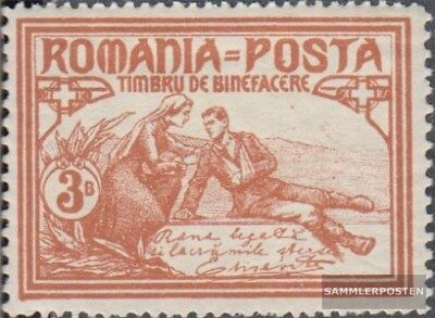 Romania 169C with hinge 1906 Welfare