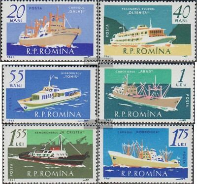 Romania 1972-1977 (complete.issue.) unmounted mint / never hinged 1961 Navigatio