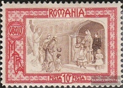 Romania 210 with hinge 1907 Poor relief