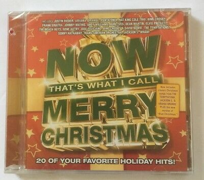 NOW Merry Christmas by Various Artists (CD, Oct-2017, Capitol)