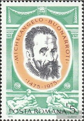 Romania 3256 (complete.issue.) unmounted mint / never hinged 1975 Michelangelo