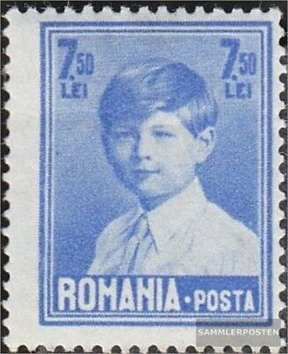 Romania 327 with hinge 1928 clear brands - King Michael I.