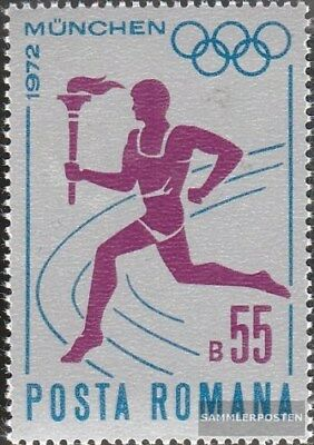 Romania 3043 (complete.issue.) unmounted mint / never hinged 1972 olympic. Games
