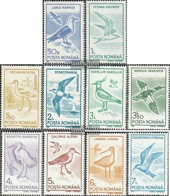 Romania 4642-4651 (complete.issue.) unmounted mint / never hinged 1991 Birds