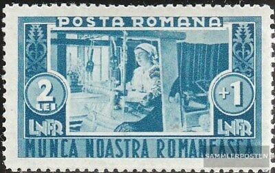 Romania 466 with hinge 1934 Hausarbeiten the country population