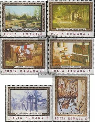 Romania 4332-4337 (complete.issue.) unmounted mint / never hinged 1987 Paintings