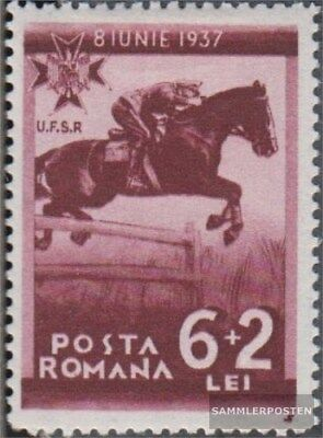 Romania 534 with hinge 1937 Sportverbände