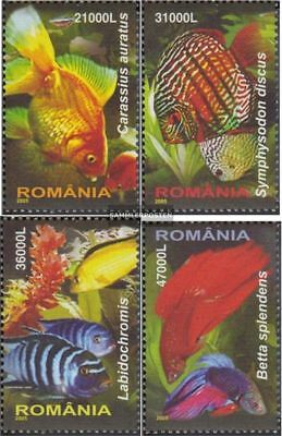 Romania 5912-5915 (complete.issue.) unmounted mint / never hinged 2005 Ornamenta