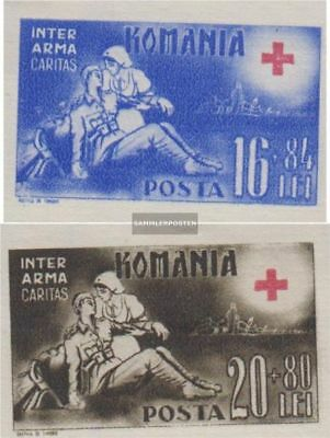 Romania 758B-759B (complete.issue.) unused 1943 Red Cross