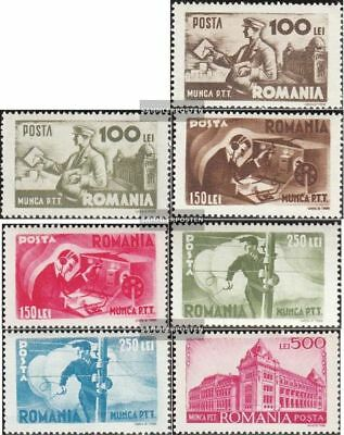 Romania 867-873 (complete.issue.) unmounted mint / never hinged 1945 Postal
