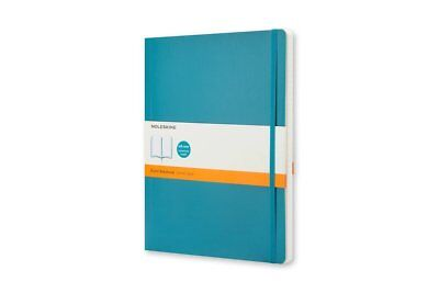 Moleskine Classic Colored Notebook, Large, Ruled, Underwater Blue, Soft Cover