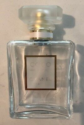 Chanel Coco Madmoiselle EMPTY 1.7 oz Bottle Perfume Collectible