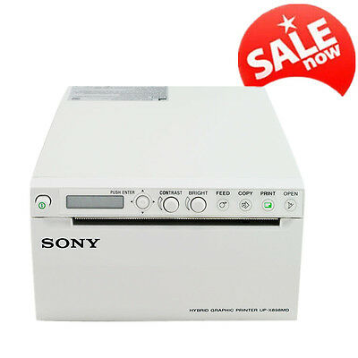 SONY Video Printer For Ultrasound Scanner 6000A/6000D/9000B UP-897MD+AV Cable CE
