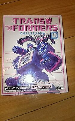 Transformers G1 Takara Book Collection 10 Soundwave and laserbeak #2