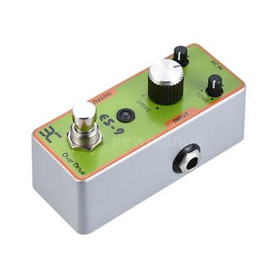 ENO Electric Guitar Overdrive Effect Pedal True Bypass Full Metal Shell X0E2