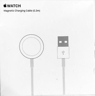 Genuine Apple Watch iWatch Magnetic USB Wireless Charger Charging Cable 1ft