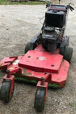 EXMARK V-36 COMMERCIAL walk behind zero turn mower 36 inch mowing deck