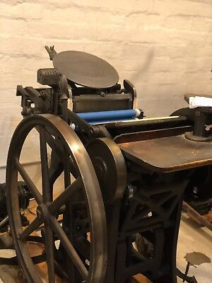 1910 Chandler and Price 8 x 12 Treadle Press