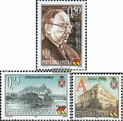 Serbian Republic bos.-h 199,210,219 (complete.issue.) unmounted mint / never hin