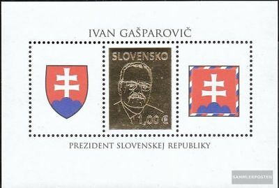 Slovakia block31 (complete.issue.) unmounted mint / never hinged 2009 Gasparovic
