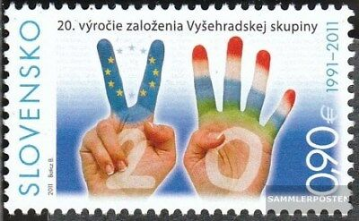 Slovakia 654 (complete.issue.) unmounted mint / never hinged 2011 Visegrad