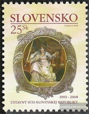 Slovakia 576 (complete.issue.) unmounted mint / never hinged 2008 Court