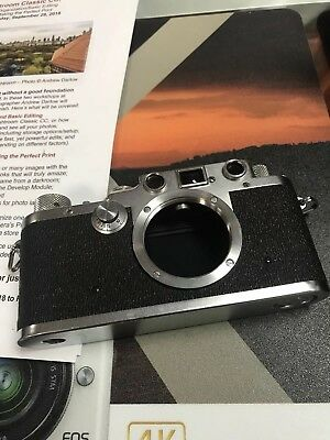 Leica IIIC Shark Skin Camera Body Rangefinder Film Camera