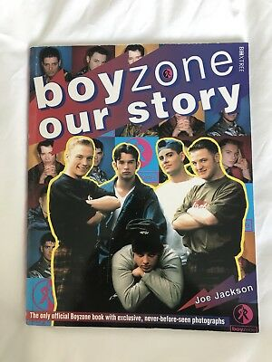 Seven Boyzone books dated 1995- 1998, all in very good condition.